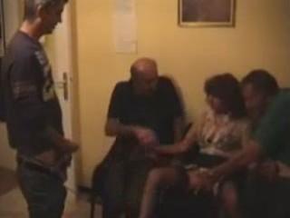 non-professional older milf gang group sex full
