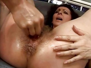 hairy granny getting her wet crack drilled hard