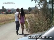 lascivious mother i receives drilled hard outdoor