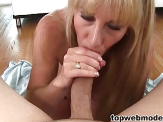 perverted mama blows her daugthers boyfriend