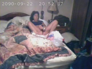 hidden cam catches mother i masturbating on couch