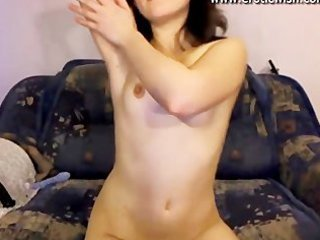 cute russian youthful mother widens cunt