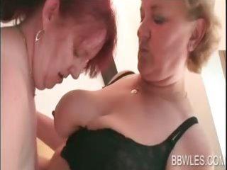 lesbian bbw pleasing older assets