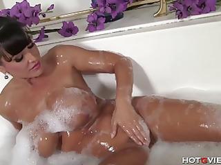 bubble washroom boobies