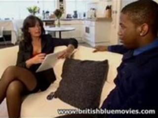 Sarah beattie - british milf interracial anal