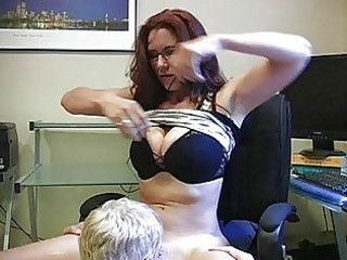 enormous chested momma with glasses gets her