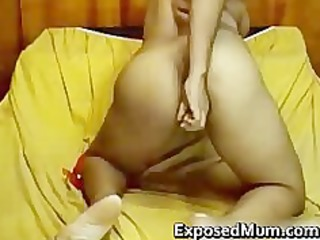 indian mother i with tiny jugs strips