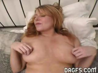 breasty milf acquires her snatch toyed and her