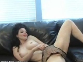 brunette hair mother i anastasia toying