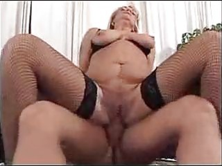 Granny fucked in living room