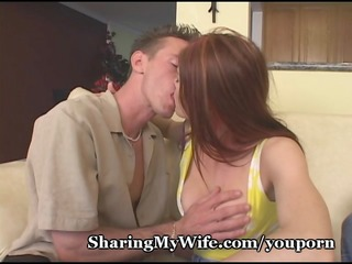 hot redheaded wife shared with ally