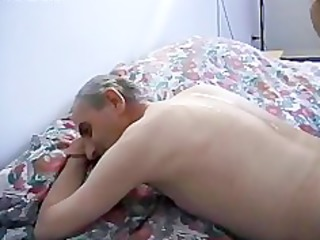 Teen masseuse fucked by grandpa