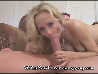 mature lady milks young rod