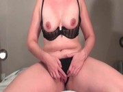 solo scene with mature teasing assets