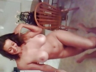 lad acquires trampled by hot dark haired milf