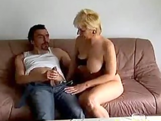 crazy old mama receives drilled hard and spunk