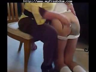 spanked by mommy