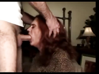 aged and experienced transvestite screwed in the