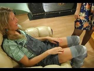 Sexcrazy mature chick shows