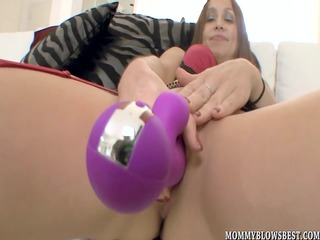 cheating wife julia silver showing off oral