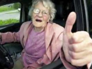 Drivers seat perverse olde kinky grannies by