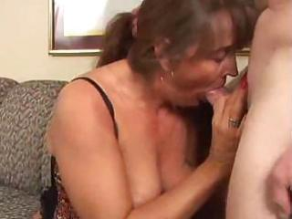 horny mature mother i sucks and copulates a