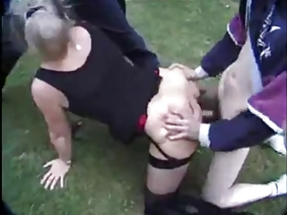 french aged danielle - open air fuck