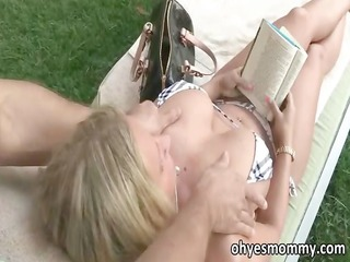 busty stepmom devon lee has three-some