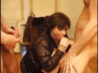 french matures hard anal