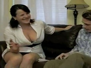 hot breasty smokin mom bangs soninlaw