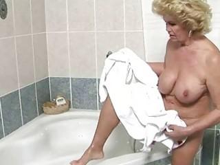 breasty granny getting fucked pretty hard