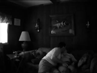 aged pair makes their own sex tape fucking on the