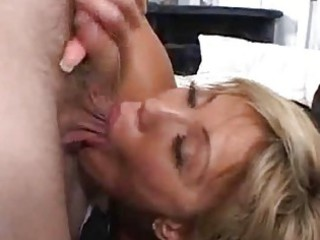 eager abode wife receives a facial