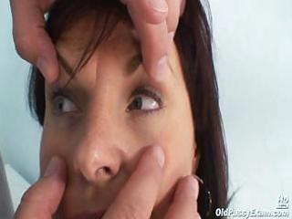 mature livie vagina examination by lustful