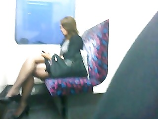 candid sexy crossed legs 11