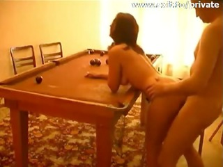pool table sex with my ex wife masja
