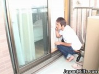 exceedingly horny japanese milfs engulfing