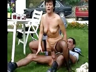 outdoor granny fuckfest