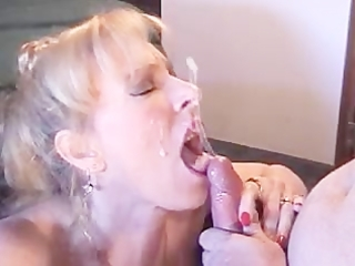 milf smoking oral pleasure facial