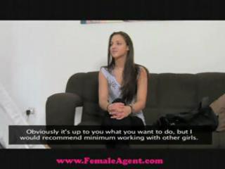 femaleagent d like to fuck loves an incredible