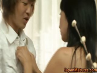 japanese aged lady has sex