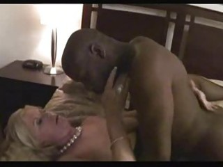 Hot blonde granny anneke banged by bbc