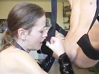 german aged gives ideal oral-job