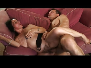 mommy hairy cum-hole fucked by troc