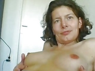 Mature german woman rubbing herself