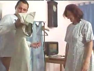older seamstress sucks and copulates aged mature
