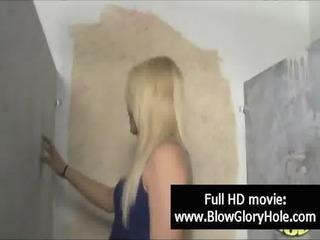 gloryhole - hot breasty women love engulfing