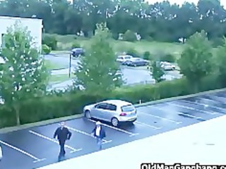 grandpas fucking escort girl