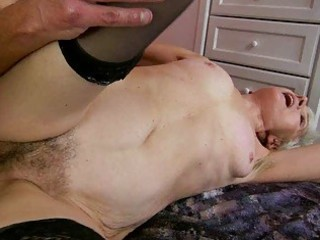 granny enjoys wicked sex with youthful chap