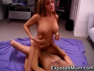 real mom non-professional tastes the cock part11